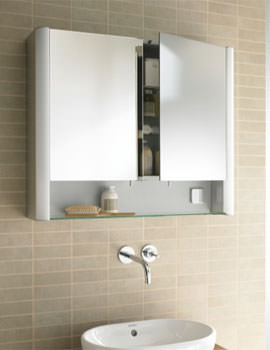 Duravit Multibox New Mirror Cabinet 1000mm - MB 9702