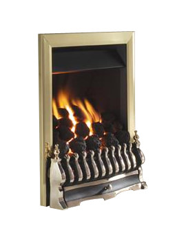 Flavel Richmond Remote Control Inset Gas Fire Brass - FICC12RN