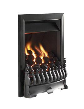 Flavel Richmond Slide Control Inset Gas Fire Black - FICC53SN