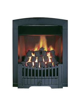Flavel Rhapsody Slide Control LPG Gas Fire Black - FDCN57SP