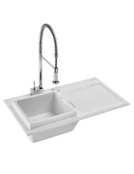 Related Duravit Starck K 50 Built-In 900x510mm Kitchen Sink - 7511900000