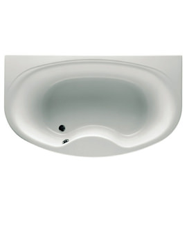 Veranda-N Acrylic Bath Ungripped 1900 x 1100mm - 247356000