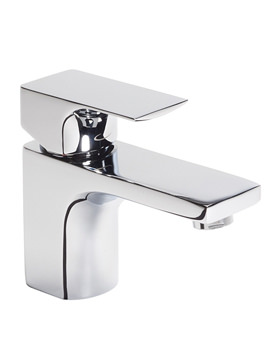 Tavistock Siren Mini Basin Mixer Tap With Click Waste - TSN61