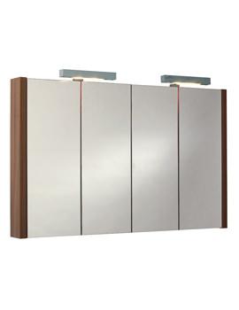 Phoenix Trent Mirror Cabinet And Light 1050mm - FU346L