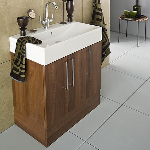 ... of Roca Smooth Base unit For On Countertop Basin 750mm - 856BU3000