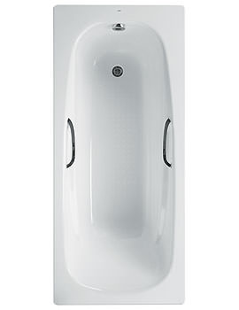 Carla Plus Steel Bath 1700 x 700mm With Anti Slip - 237733000