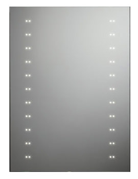 Refraction LED Illuminated Mirror 550mm x 750mm - SLE410