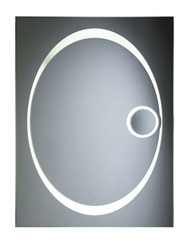 Vapour Back-Lit Bathroom Mirror 600mm x 800mm - SBL16