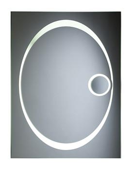 Vapour Back-Lit Bathroom Mirror 600mm x 800mm - SBL16