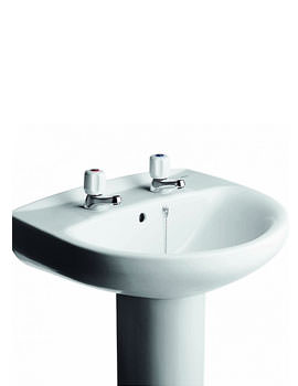 Roca Polo Zoom One Tap Hole Basin 560mm Wide - 32629B000