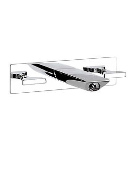 Touch Wall Mounted Basin Mixer Tap On Chrome Plate - 5A4747C00
