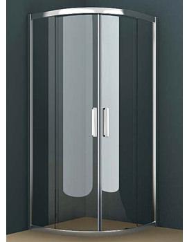 Oxygen 8 Double Sliding Door Quadrant Shower Enclosure 800mm