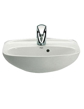 Laura 1 Tap Hole Cloakroom Basin 450mm Wide - 325314005