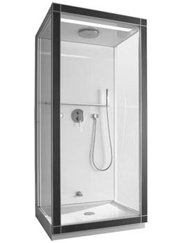 Duravit St.Trop 1000 x 1000mm Steam Shower - Corner Left - 730010