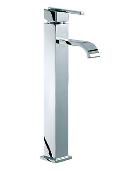 Ice Fall Lever Head Freestanding Mono Basin Mixer Tap - IFL039