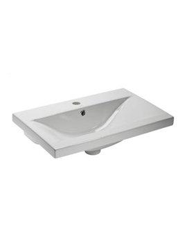 600mm Single Taphole Ceramic Basin - CON600W
