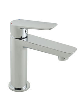 Photon Mini Mono Basin Mixer Tap Chrome