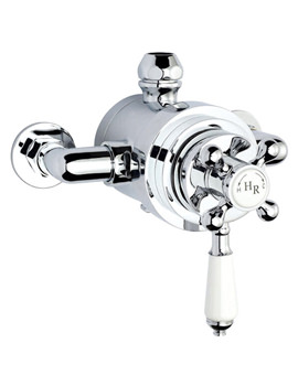 Traditional Dual Exposed Thermostatic Shower Valve -A3091E