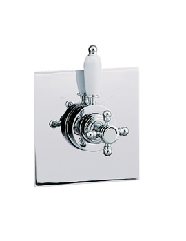 Image of Mayfair Traditional Crosshead Thermostatic Shower Valve - TRA220