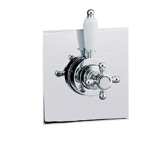 Large Image of Mayfair Traditional Crosshead Thermostatic Shower Valve - TRA220