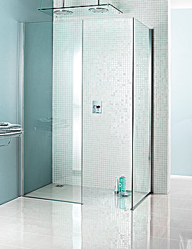 Classic Mode Walk-In Shower Panel 800 x 1950mm - 6409