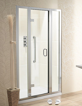 Classic Hinged Door With 2 Inline Panels 1200mm