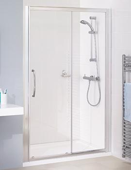 Silver Semi Frame-less Slider Door 1600 x 1850mm