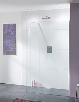 Coastline Cannes Walk In Shower Screen 1200 x 2000 - LK810-120 05