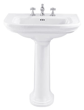 Carlyon 715mm Large Basin With Full Pedestal