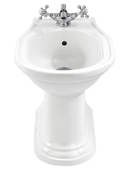 Imperial Carlyon 1 Tap Hole Bidet 555mm - CR1BI11030