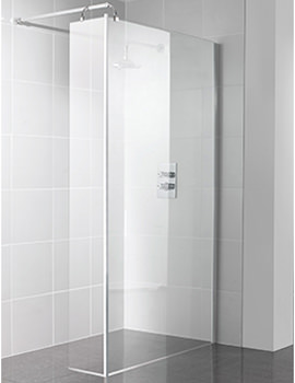 Manhattan Corner 900mm Wetroom With Return Panel