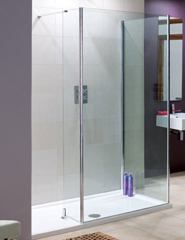 Coastline Andora Or Rhodes Shower Panel 850 x 2000mm LK814-085 05