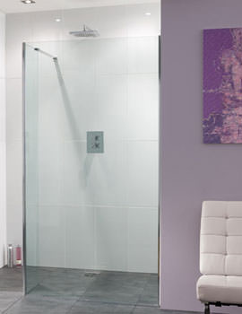 Coastline Nice 1400mm Shower Panel With 320mm Bypass Panel