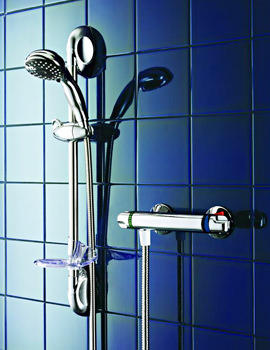 Galaxy Quasar Thermostatic Bar Mixer Shower Chrome - 026859