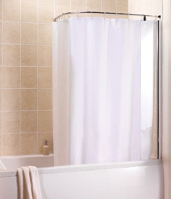 bath curtain rails qs supplies shower curtain rails just shower rails circular corner