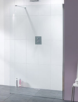 Coastline Cannes Walk In Shower Screen 750 x 2000mm