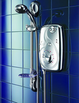 Galaxy Aqua 3000 8.5KW Electric Shower Chrome - 026408