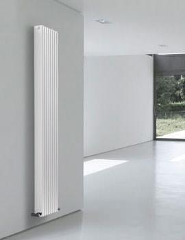 MHS Path White Finish Designer Radiator 500 x 1800mm - PAT 01 1 180050