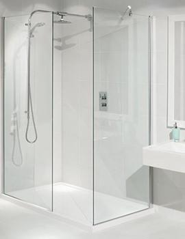 Manhattan Walk-In Shower Enclosure 1400 x 900mm - M8CL1490WKRE 3
