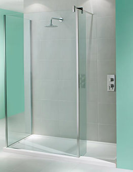 Manhattan Walk-In Shower Enclosure 1700 x 800mm Without Shower Tray