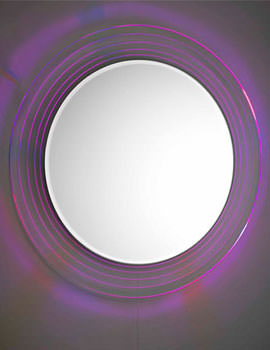 Orpheus Pull Cord Colour Change Mirror 600mm