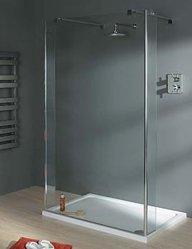 Italia Celino Walk In Shower Enclosure 1000 x 750mm