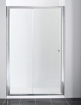Manhattan New Era Straight Sliding Shower Door 1100mm - NE11NSDC