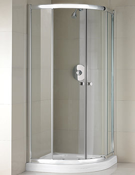 Manhattan M2 Broadway Double Door Shower Quadrant 900mm - M2BWYNQUC