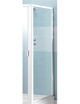 Manhattan M2 Broadway 800mm Enclosure Side Panel White - M2BY80NSPW