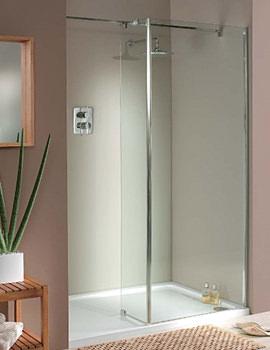 Italia Mileto Walk-In Shower Enclosure 1400 x 800mm