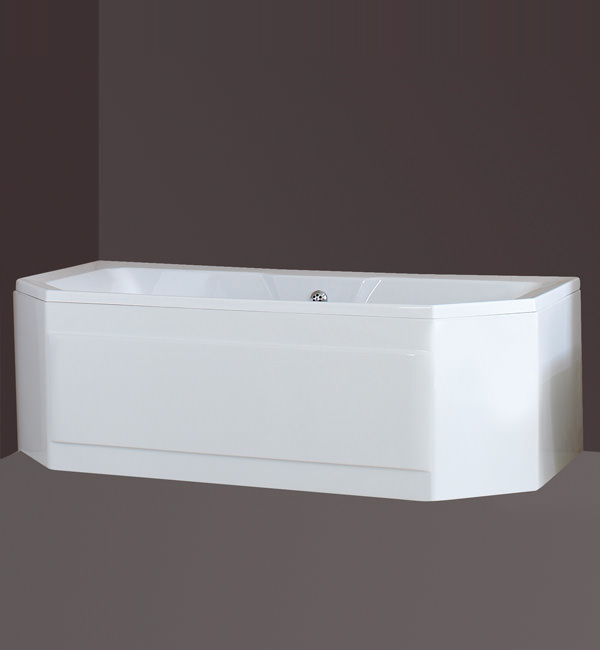 Large Image of Phoenix Legato Corner Bath 1800 x 900mm - LEGCOR