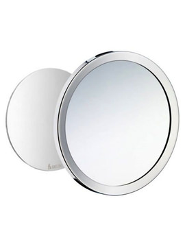 Outline Detachable Shaving And Make-Up Mirror