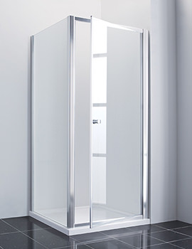 Manhattan New Era Pivot Shower Door 900mm Chrome - NE90PDC