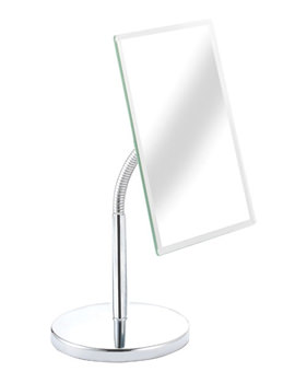 Croydex Essentials Square Pedestal Mirror - QM105741